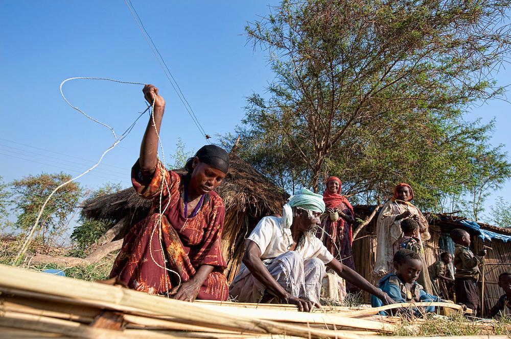 Abay, Weito, Boat construction, Amara, Bahir Dar, ETH, Ethiopia, Amara