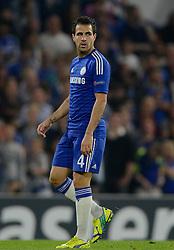 Chelsea's Cesc Fabregas - Photo mandatory by-line: Joe Meredith/JMP - Mobile: 07966 386802 - 17/09/2014 - SPORT - FOOTBALL - London - Stamford Bridge - Chelsea v Schalke 04 - Champions League Group Stage