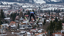 30.01.2016, Normal Hill Indiviual, Oberstdorf, GER, FIS Weltcup Ski Sprung Ladis, Bewerb, im Bild Elisabeth Raudschl (AUT) // Elisabeth Raudschl Stolz of Austria during her Competition Jump of FIS Ski Jumping World Cup Ladis at the Normal Hill Indiviual, Oberstdorf, Germany on 2016/01/30. EXPA Pictures © 2016, PhotoCredit: EXPA/ Peter Rinderer