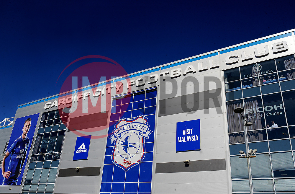General views outside the stadium- Mandatory by-line: Nizaam Jones/JMP - 21/04/2019 -  FOOTBALL - Cardiff City Stadium - Cardiff, Wales -  Cardiff City v Liverpool - Premier League