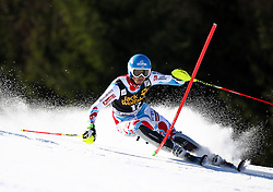 MISSILLIER Steve of France competes during Men's Slalom - Pokal Vitranc 2014 of FIS Alpine Ski World Cup 2013/2014, on March 9, 2014 in Vitranc, Kranjska Gora, Slovenia. Photo by Matic Klansek Velej / Sportida