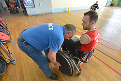 France V Germany, Behind the scenes at the 2016 IWRF Rio Qualifiers, Paris, France