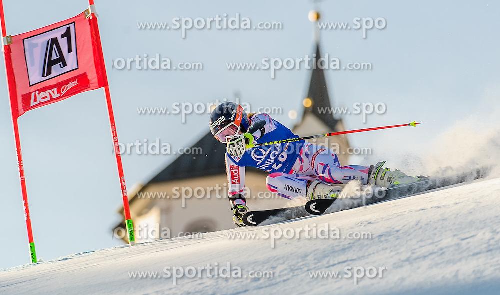 28.12.2015, Hochstein, Lienz, AUT, FIS Ski Weltcup, Lienz, Riesenslalom, Damen, 1. Durchgang, im Bild Taina Barioz (FRA) // Taina Barioz of France during 1st run of ladies Giant Slalom of the Lienz FIS Ski Alpine World Cup at the Hochstein in Lienz, Austria on 2015/12/28. EXPA Pictures © 2015, PhotoCredit: EXPA/ Michael Gruber