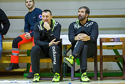 Veselin Vujovic, head coach of Slovenia during Handball friendly match between Slovenia and Iran, on January 4, 2018 in Dol pri Hrastniku, Dol pri Hrastniku, Slovenia. Photo by Ziga Zupan / Sportida