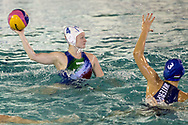 4 Elisa QUEIROLO ITA cap<br /> ITA v HUN Italy (white cap) versus Hungary (blue cap)<br /> FINA Women Water Polo World League qualification round<br /> Avezzano (AQ) Italy ITA Piscina Comunale Avezzano <br /> Centro Italia Nuoto  Unipol<br /> April 18th, 2017 <br /> Photo &copy;G.Scala/Deepbluemedia/Insidefoto
