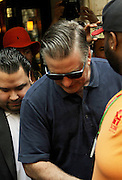 May 13, 2014 - New York, New York, U.S. - <br /> <br /> Baldwin Arrested For Riding Bike Wrong Way<br /> <br /> Actor ALEC BALDWIN leaves his East Village apartment following his arrest by the NYPD for riding his bicycle the wrong way down 5th Avenue and having no identification. <br /> ©Exclusivepix