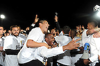 Joie Angers - Accession en L1 - 22.05.2015 - Angers / Nimes - 38eme journee Ligue 2<br />Photo : Nolwenn Le Gouic / Icon Sport