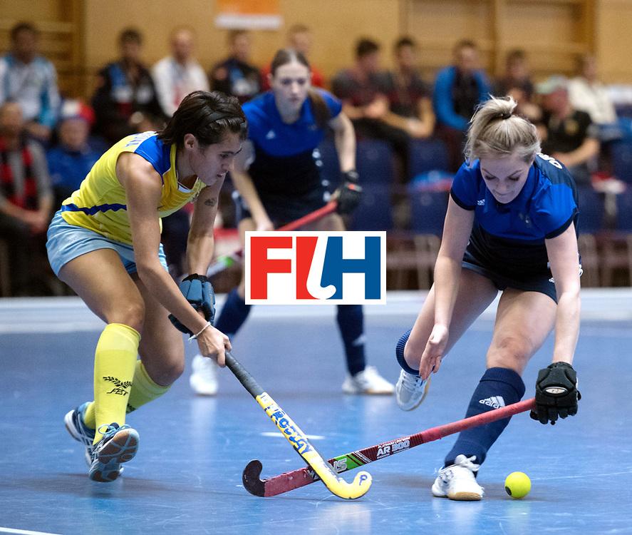 BERLIN - Indoor Hockey World Cup<br /> Kazakhstan - Russia<br /> foto: Antonina Orlova <br /> WORLDSPORTPICS COPYRIGHT FRANK UIJLENBROEK