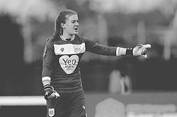 Sophie Baggaley of Bristol City gives orders - Mandatory by-line: Nizaam Jones/JMP - 28/04/2019 - FOOTBALL - Stoke Gifford Stadium - Bristol, England - Bristol City Women v West Ham United Women - FA Women's Super League 1