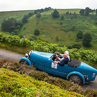 William Ainscough & Vincent Fairclough in their Bugatti Type 43 Grand Sport on the Royal Automobile Club 1000 Mile Trial 2015