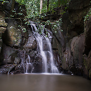 The 3 tiered Prang Waterfall in Kaeng Krachan National Park.