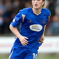 St Johnstone FC Season 2009-10<br /> Liam Craig<br /> Picture by Graeme Hart.<br /> Copyright Perthshire Picture Agency<br /> Tel: 01738 623350  Mobile: 07990 594431
