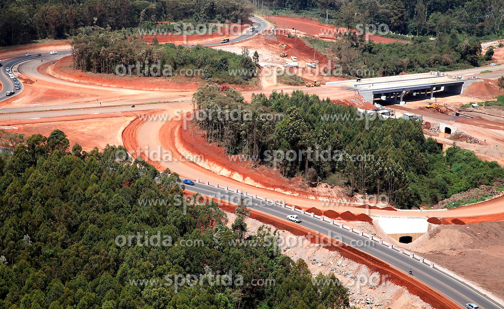 Photo taken on Mar. 5, 2014 shows the ongoing construction of Nairobi Southern Bypass project by China Road and Bridge Corporation (CRBC) in Nairobi, capital of Kenya. EXPA Pictures © 2015, PhotoCredit: EXPA/ Photoshot/ Xinhua<br /> <br /> *****ATTENTION - for AUT, SLO, CRO, SRB, BIH, MAZ only*****