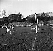 1961 - Soccer: St. Patricks Athletic v Cork Hibernians at Richmond Park