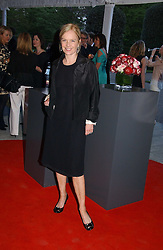 MARIELLA FROSTRUP at a party to celebrate the opening of Roger Vivier in London held at The Orangery, Kensington Palace, London on 10th May 2006.<br />