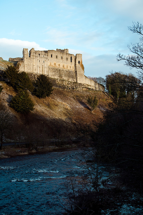 A view of Richmond Castle, Yorkshire