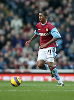 Photo: Rich Eaton.<br /> <br /> Aston Villa v West Ham. The Barclays Premiership. 03/02/2007. Ashley Young pictured on his Aston Villa debut at Villa Park