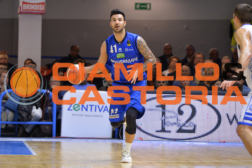 Sacchetti Brian<br /> Happycasa Brindisi - Germani Basket Brescia<br /> Legabasket serieA2017-2018<br /> Brindisi , 29/10/2017<br /> Foto Ciamillo-Castoria/M.Longo