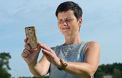 06-08-2015 NED: 60Minutes2Rio, Arnhem<br /> Fotoshoot voor de app 60Minutes2Rio dat half augustus uitkomt