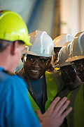Angolan Cadets on board the Maersk Attender