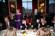 CHARLES MOORE; CHARLOTTE DE BOTTON; ALAIN DE BOTTON;  SUSIE BOYT, Literary charity First Story fundraising dinner. Cafe Anglais. London. 10 May 2010. *** Local Caption *** -DO NOT ARCHIVE-© Copyright Photograph by Dafydd Jones. 248 Clapham Rd. London SW9 0PZ. Tel 0207 820 0771. www.dafjones.com.<br /> CHARLES MOORE; CHARLOTTE DE BOTTON; ALAIN DE BOTTON;  SUSIE BOYT, Literary charity First Story fundraising dinner. Cafe Anglais. London. 10 May 2010.