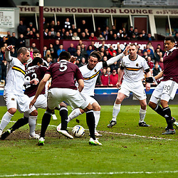 Hearts v Dumbarton | Scottish Championship | 14 March 2015