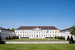 The Bellevue palace home of the President of Germany in Berlin Germany.