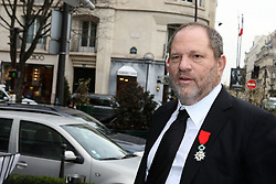 "Harvey Weinstein, US producer of the Silent and black-and-white movie ""The Artist"" arriving at 'L'Avenue' restaurant on the avenue Montaigne after French President awarded him with the Legion d'Honneur (Legion of Honor), in Paris, France on March 7, 2012. Photo by ABACAPRESS.COM  