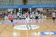 TRENTO TRENTINO BASKET CUP - 08082013 - ALLENAMENTO <br /> NELLA FOTO : CUZZOLIN FRANCESCO<br /> FOTO CIAMILLO