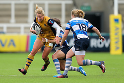 Amber Reed (capt) of Bristol Ladies - Rogan Thomson/JMP - 08/10/2016 - RUGBY UNION - Kingston Park - Newcastle, England - Darlington Mowden Park Sharks v Bristol Ladies Rugby - RFU Women's Premiership.