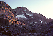 Eagle Scout Peak, Sunset, Sequoia and Kings Canyon National Parks, California