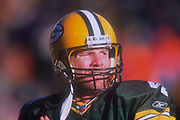 Green Bay Packers quarterback Brett Favre (4) during an NFL football game, Sunday, Dec. 30, 2001, in Green Bay, Wisc. The Packers defeated the Vikings 24-13.
