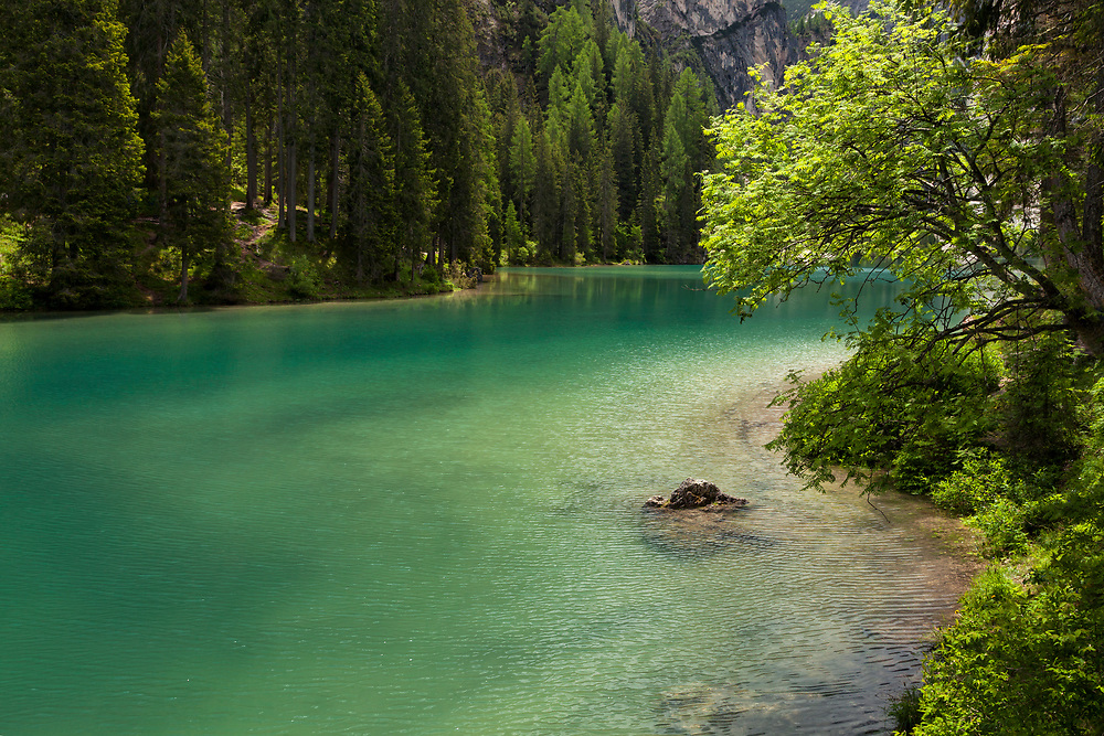 Lake Braies, early morning