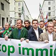 """""""Stop all'immigrazione clandestina"""" Manifestazione Lega Nord"""