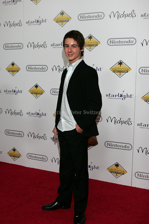 "Dominick Scott Kay arrives on the red carpet at ""A Stellar Night"" hosted by ""Starlight Children's Foundation"" who are brightening the lives of seriously and terminally ill children in order to take their minds off the pain, fear and isolation of their illness. The Gala benefit was held at the Century Plaza Hyatt Hotel in Century City Ca. Saturday March 26, 2011. Photo by Peter Switzer"