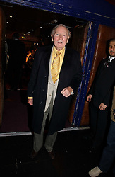 Actor LESLIE PHILLIPS at the 9th Annual British Independent Film Awards at the Hammersmith Palais, London on 29th November 2006.<br />