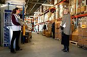Koningin Maxima bezoekt vrijwilligers Rode Kruis Nederland