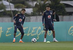 May 25, 2018 - Rio De Janeiro, Brazil - Brazilian player Neymar during a training session at Granja Comari in Teresopolis Rio de Janeiro today May 25, 2018. (Credit Image: © Fabio Teixeira/NurPhoto via ZUMA Press)