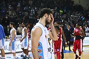 DESCRIZIONE : Cremona Lega A 2014-2015 Vanoli Cremona Giorgio Tesi Group Pistoia<br /> GIOCATORE : Luca Vitali<br /> SQUADRA : Vanoli Cremona<br /> EVENTO : Campionato Lega A 2014-2015<br /> GARA : Vanoli Cremona Giorgio Tesi Group Pistoia<br /> DATA : 08/02/2015<br /> CATEGORIA : Ritratto Delusione<br /> SPORT : Pallacanestro<br /> AUTORE : Agenzia Ciamillo-Castoria/F.Zovadelli<br /> GALLERIA : Lega Basket A 2014-2015<br /> FOTONOTIZIA : Cremona Campionato Italiano Lega A 2014-15 Vanoli Cremona Giorgio Tesi Group Pistoia<br /> PREDEFINITA : <br /> F Zovadelli/Ciamillo