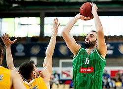 Mirza Begic of Petrol Olimpija during basketball match between KK Sixt Primorska and KK Petrol Olimpija in semifinal of Spar Cup 2018/19, on February 16, 2019 in Arena Bonifika, Koper / Capodistria, Slovenia. Photo by Vid Ponikvar / Sportida