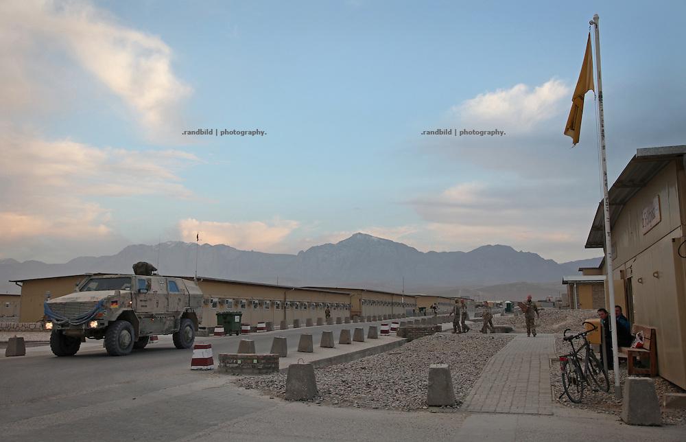 A streetview to ISAF Camp Marmal, Mazar-e Sharif