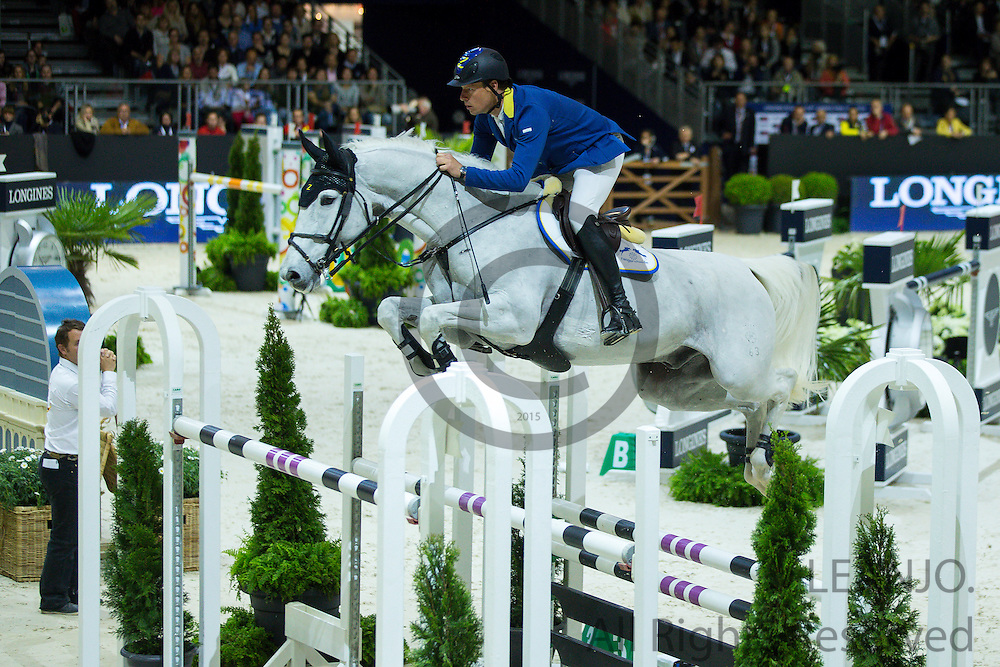 Christian Ahlmann - Aragon Z<br /> FEI World Cup Final 2014<br /> &copy; DigiShots