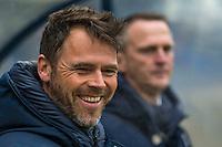 TILBURG - 19-02-2017, Willem II - AZ, Koning Willem II Stadion, Assistent trainer Dennis Haar, AZ trainer John van den Brom
