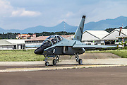 Israeli Air Force Alenia Aermacchi M-346 Master (IAF Lavi) a military twin-engine transonic trainer aircraft. Photographed in Italy
