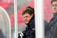 23.04.2010, Ratina, Tampere..Veikkausliiga 2010, Tampere United - JJK Jyv?skyl?..Kakkosvalmentaja Mika Malinen - TamU.©Juha Tamminen.