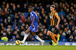 Ramires of Chelsea is challenged by Gaston Ramirez of Hull City - Photo mandatory by-line: Rogan Thomson/JMP - 07966 386802 - 13/12/2014 - SPORT - FOOTBALL - London, England - Stamford Bridge - Chelsea v Hull City - Barclays Premier League.