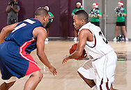 December 4, 2010: The Rogers State University Hillcats play against the Oklahoma Christian University Eagles at the Eagles Nest on the campus of Oklahoma Christian University.