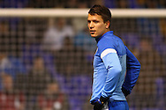 Yevhen Konoplyanka of Dnipro Dnipropetrovsk warming up before the UEFA Europa League match at White Hart Lane, London<br /> Picture by David Horn/Focus Images Ltd +44 7545 970036<br /> 27/02/2014