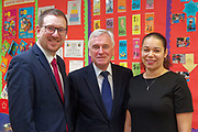 London, United Kingdom - 7 March 2018<br /> EQUINOX PICTURE EXCLUSIVE - Labour Party Shadow Chancellor John McDonnell and Shadow Communities Secretary Andrew Gwynne visiting the Liz Atkinson Children's Centre, Lambeth, London, England, UK, They were visiting the centre to highlight Conservative austerity cuts to children's centres. Europe.www.newspics.com/#!/contact<br /> (photo by: EQUINOXFEATURES.COM)<br /> Picture Data:<br /> Photographer: Equinox Features<br /> Copyright: &copy;2018 Equinox Licensing Ltd. +448700 780000<br /> Contact: Equinox Features<br /> Date Taken: 20180307<br /> Time Taken: 12035849