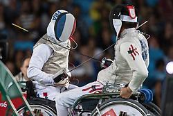LEMOINE Ludovic, FRA, Fencing, Escrime, Foil, Medal Match, Bronze à Rio 2016 Paralympic Games, Brazil